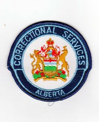 Canada Police Patch Of Alberta Corrections