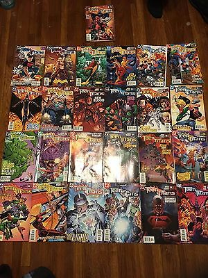 Teen Titans #1-25 (Sept 2003) VF+/NM! Geoff Johns! 25 Issue Lot! HOT BOOK!