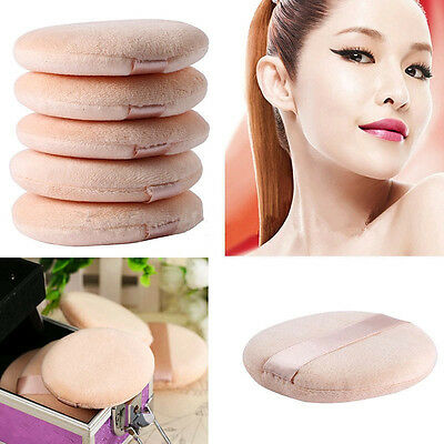 5Pcs Soft Sponge Powder Puff Pads Facial Beauty Foundation Makeup Cosmetic Tool