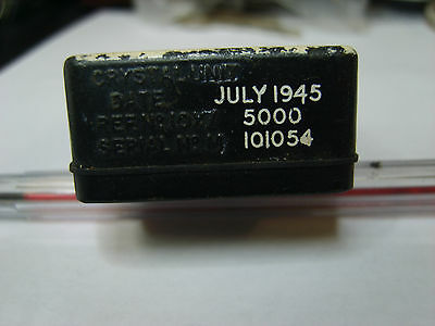 """10X"" 5000 Khz Crystal For Amateur Radio Transmitter And Receiver Oscillators"