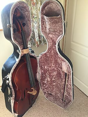 Cello Full Size With Newington Bow And Hard Case