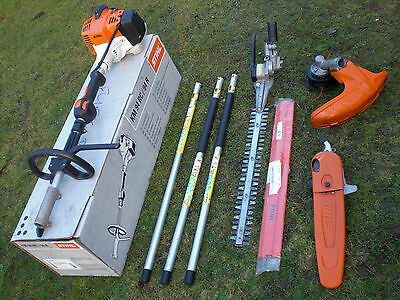 New Shape Stihl KM94 RC-E Hedge Trimmer Chainsaw Pruner Strimmer Combi Kombi 130