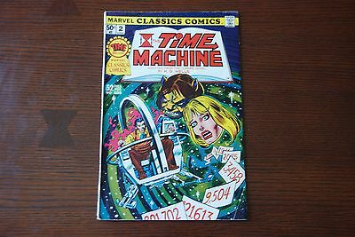 Marvel Classics 2 FN Bronze Age comic featuring The Time Machine!