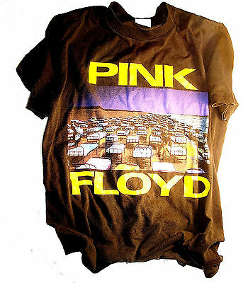 Pink Floyd Momentary Lapse Of Reason Concert Green T-Shirt Gilmour Waters MkOfr