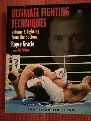 Ultimate Fighting Techniques Volume 2:fighting From The Bottom Royce Gracie Bjj
