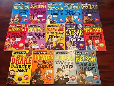 Horribly Famous series 14 books, Horrible Histories
