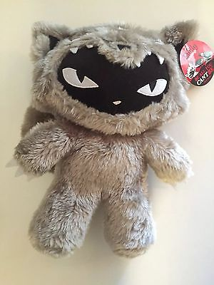 Rare Exclusive Toynami Emily the Strange Wolf Kitty Toy Plush Stuffed Sold Out