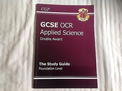 GCSE OCR Applied Science Study Guide Foundation Level