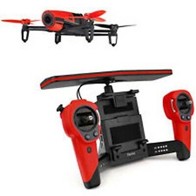 Parrot Bebop DRONE   skycontroller ROSSO 14 MP FULL HD WIFI PER IOS/ANDROID