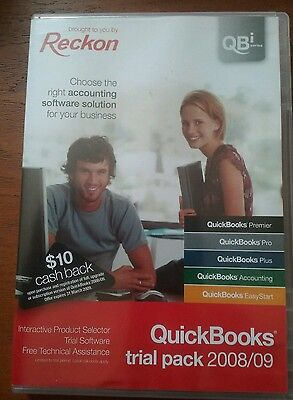 QuickBooks Trial Pack 2008/09