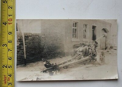 original photo Military Germany Gun 1943 USSR Russia Real photo