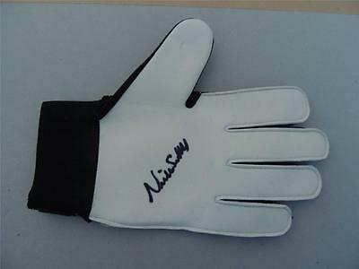 Signed  Goal Keepr Glove Neville Southall Everton Proof COA