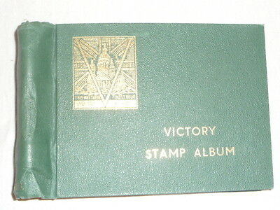 Victory Peace 1945 - Complete Mint Hinged & Some Used In Victory Stamp Album