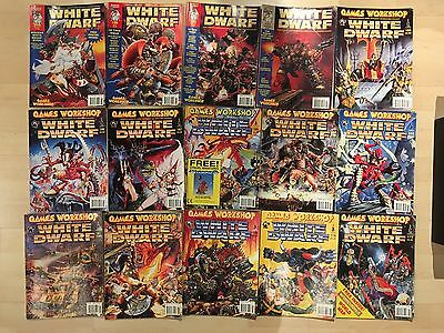 Bundle Of 15 Games Workshop White Dwarf Magazines [back Issues]