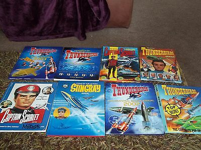 THUNDERBIRDS STINGRAY CAPTAIN SCARLET 90s BOOKS Gerry Anderson Fanderson TV21