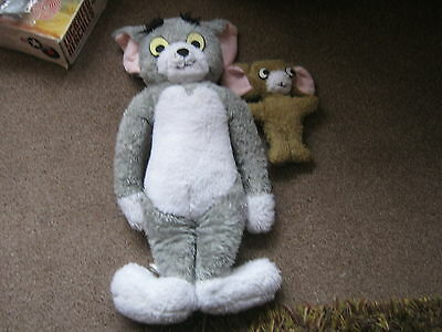 Vintage  Chad Valley tom and jerry soft toy. Circa 1960./70