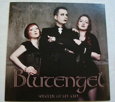 "BLUTENGEL 7"" Winter Of My Life RARE Limited release EBM Electro"