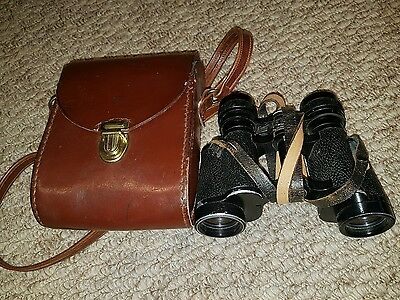 Vintage Carl Zeiss Jena 8x30 Binoculars With Case