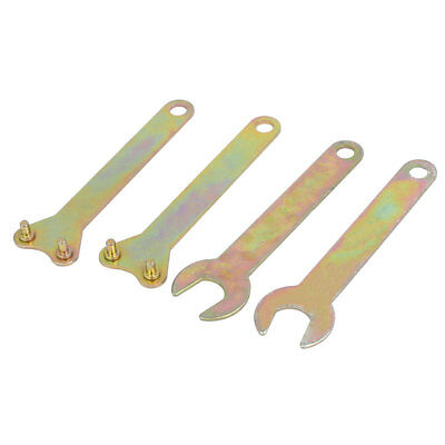 Angle Grinder Spanner Wrench Lock Nut Hand Tool 112mm Long 4 in 1 Set