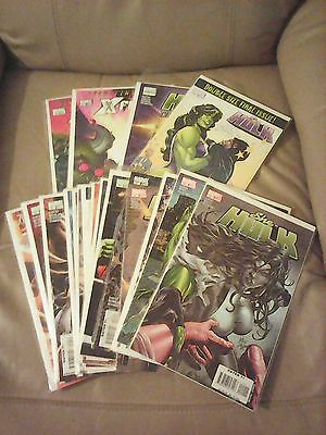 SHE HULK (2005) 22-38 + Extras Full Complete Peter David Run Collection Marvel