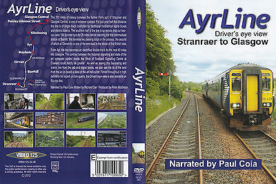 Video 125 ~ AYRLINE - Stranraer to Glasgow ~ Drivers Eye View on DVD