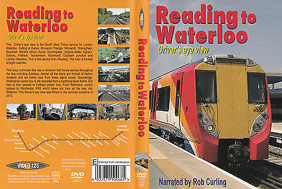 Video 125 ~ Reading to Waterloo ~ Drivers Eye View on DVD