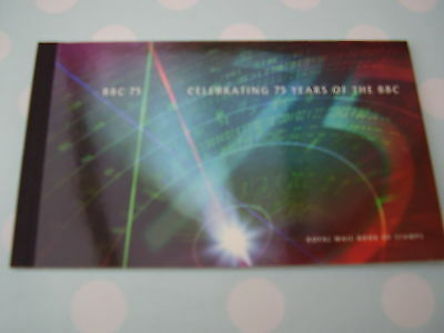 75 Years of the BBC. DX 19. Prestige Booklet. Complete. Superb Condition.