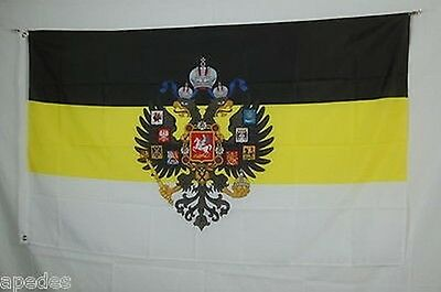 Russian Empire Imperial Coat of Arms Tsar FLAG Banner 3x5