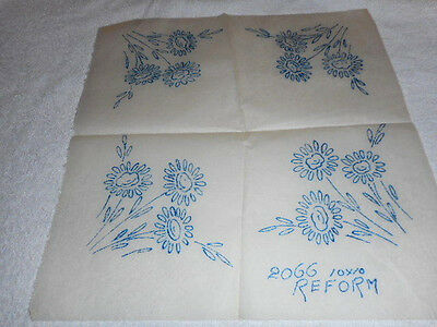 Vintage Embroidery Iron on Transfer- No. 2066 - Flowers
