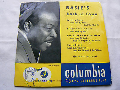 count basie      basies back in town (extended play ) EX-