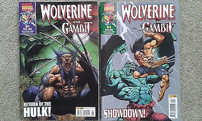 WOLVERINE AND GAMBIT issues 91 & 92 Hulk/Wolverine: 6 Hours