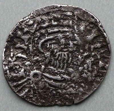 Edward The Confessor (1042-1066) Silver Penny, Pointed Helmet Type