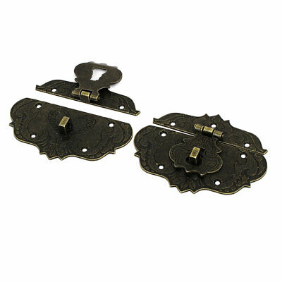 Suitcase Box Trunk Lock Buckle Latches Catch Toggle Hasp 86mm x 65mm 2PCS