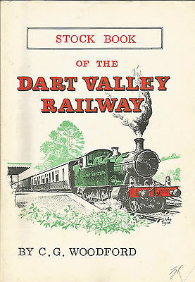 Dart Valley Railway Stock Book 1971. By C.g. Woodford. Drawings By Freezer/roche