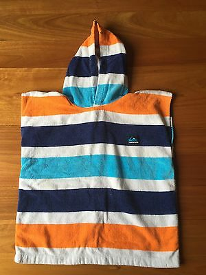 Kids Size 4 Quicksilver Hooded Towel