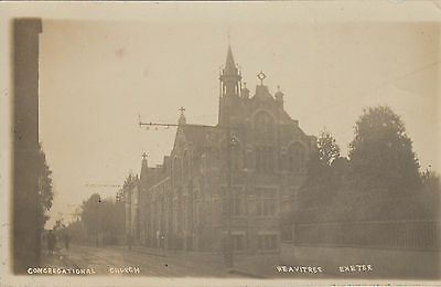 Unused postcard ~ Congregational Church Heavitree Exeter