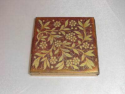 Vintage Ladies Zenette Mirror/powder Compact Very Collectable