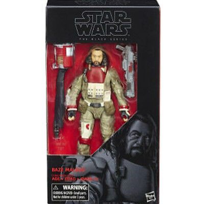 """STAR WARS Rogue One Black Series 6"""" 037 Baze Malbus ACTION FIGURE NEW"""