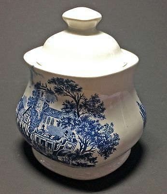 """meakin pot and cover """"Staffordshire stage"""""""