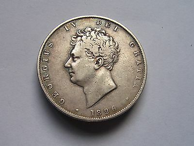 George 1111 Half Crown Dated 1826 Super High Grade