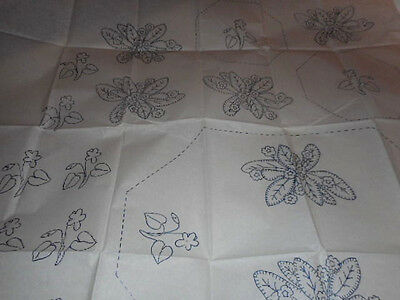 Large Vintage Embroidery Iron On Transfer-Stitchcraft No.951- Flowers