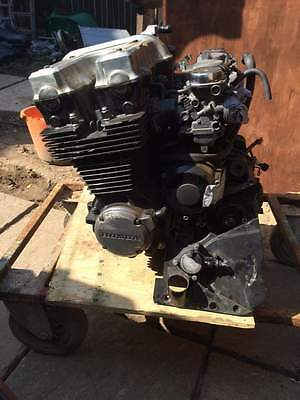 honda cb750f2 engine, carbs and starter motor