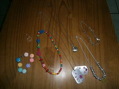 Mixed childrens costume jewellery