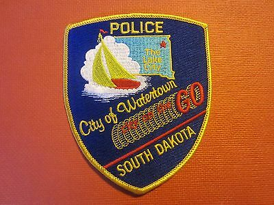 Collectible South Dakota Police Patch Watertown New