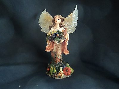 2002 Boyds Charming Angel Aurelia ...guardian Of Harvest- New In Box