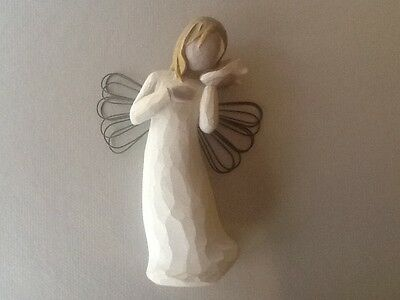 Willow Tree Angel Figurine - Thinking Of You
