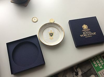 2002 Walmley Sutton Coldfield Golf Club Royal Worcester Bone China Centenary Dis