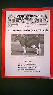 Holstein World 1942 Bell Farms Dispersal + Neale Farms + Maytag Farms Cover