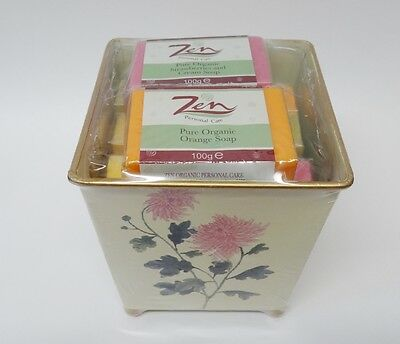 CLEARANCE LINE    8 Organic Fruit Soap in Presentation Plant Pot  Was 10.00