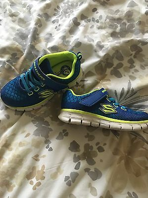 Boys Sketchers Trainers Size 8